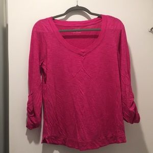Pink cotton top size M